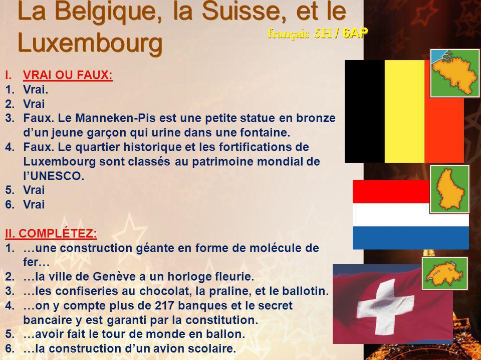 français 6AP le 8-9 février 2012 ActivitéClasseur ÉCOUTONS/CHANTONS !: Des ricochets / Ça ira, mon amour ! Activité/Devoirs L'entrée ! PROJET FRANCO-A