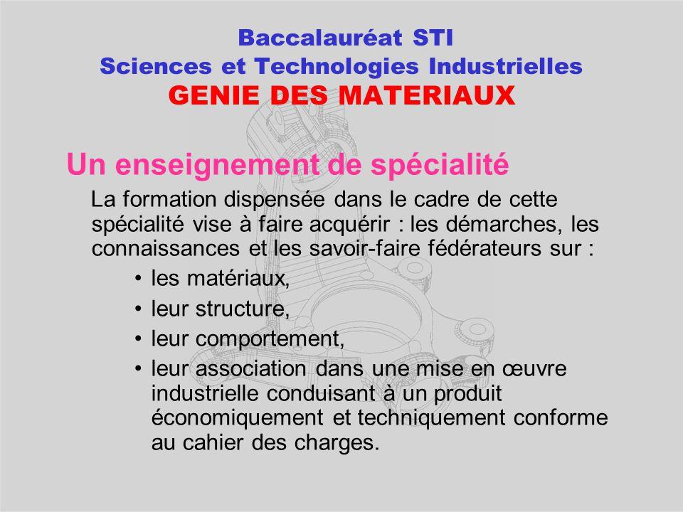 POURSUITES D'ETUDES après un bac STI Génie mécanique productique  BTS Industrialisation de Produit Mécanique  BTS Etude et Réalisation des Outillage