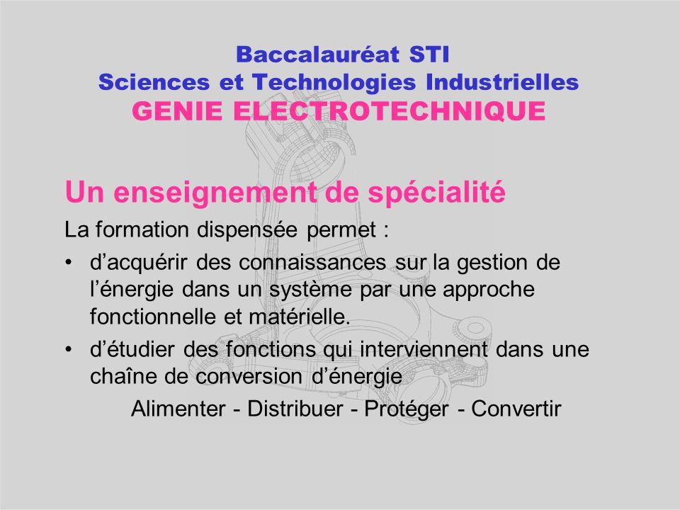 POURSUITES D'ETUDES après un bac STI Génie des matériaux  BTS IPM Industrialisation des Produits Mécaniques  BTS Etude et Réalisation des Outillages