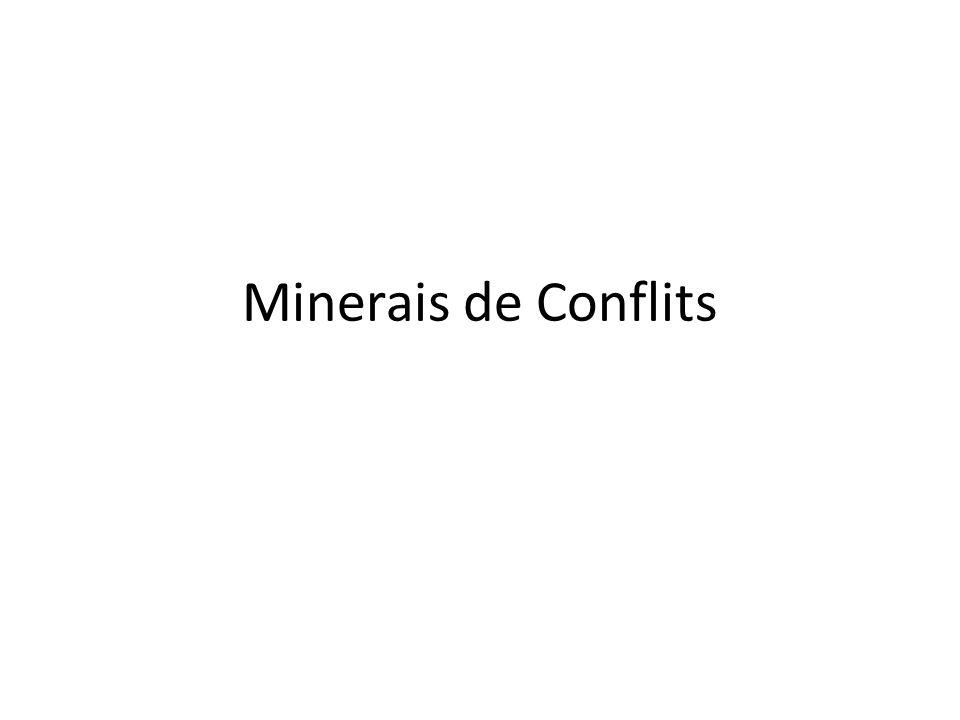 Minerais de Conflits