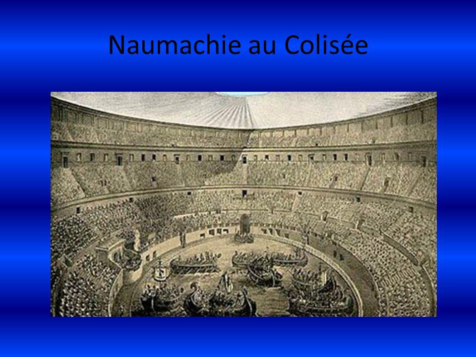 Naumachie au Colisée