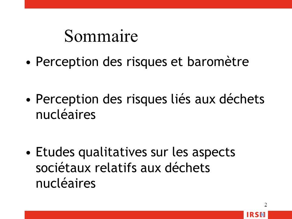 13 Avez-vous confiance dans les autorités françaises pour leurs actions de protection des personnes dans le domaine des déchets radioactifs ? Non Oui Plus ou moins