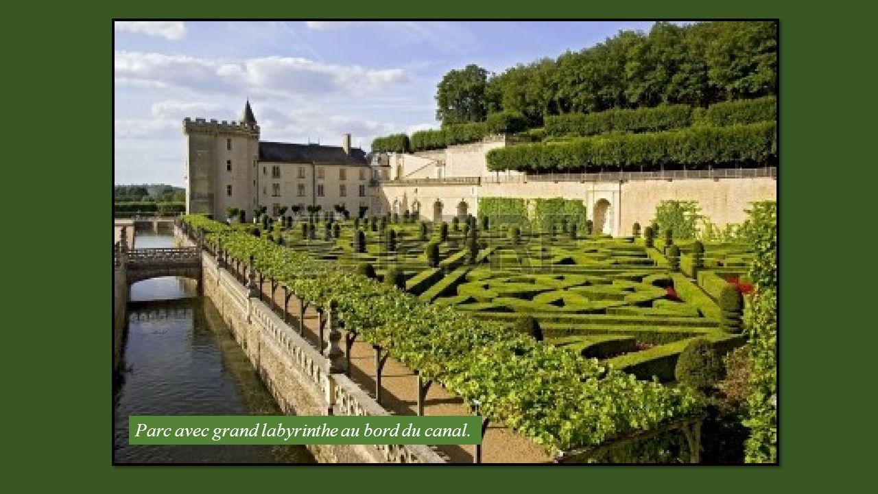 VALENCAY (Indre) Château classé grand site du Val de Loire.