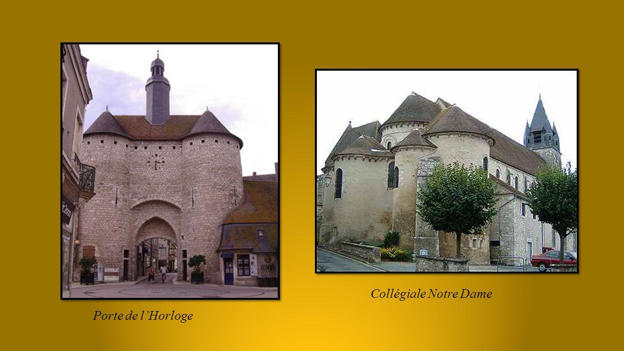 vestiges des remparts et Tour Charles VII