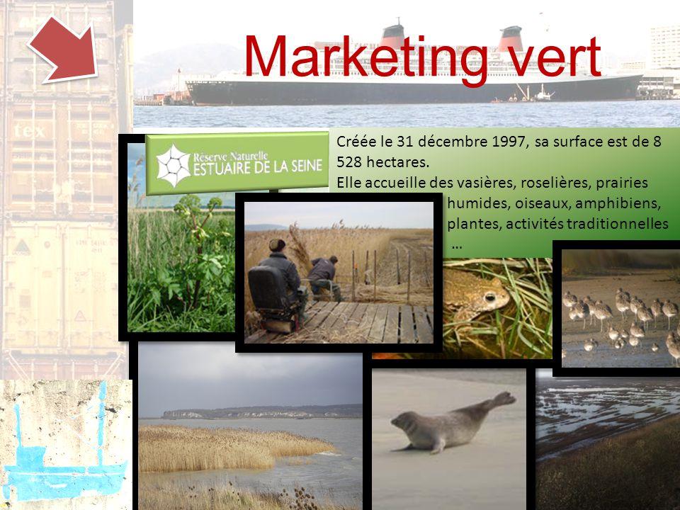 Marketing vert Créée le 31 décembre 1997, sa surface est de 8 528 hectares.