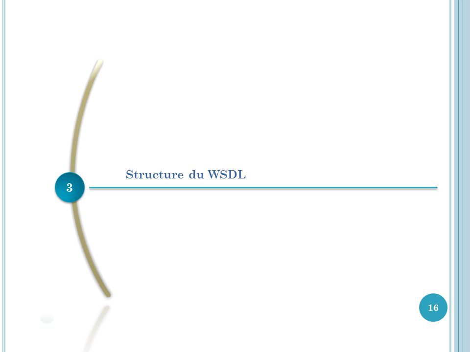 3 3 16 Structure du WSDL