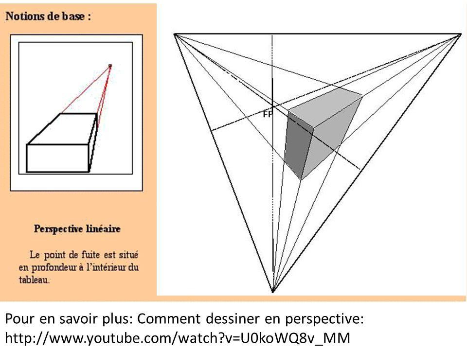 Pour en savoir plus: Comment dessiner en perspective: http://www.youtube.com/watch?v=U0koWQ8v_MM