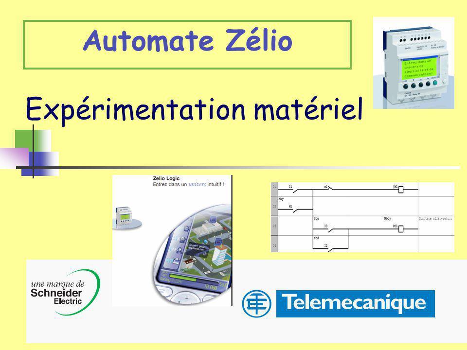 Académile de LilleLuc DEGUILLAGE1 Expérimentation matériel Automate Zélio