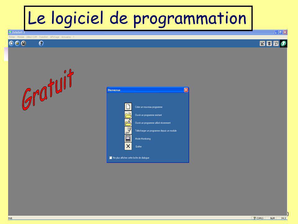 Académile de LilleLuc DEGUILLAGE10 Le logiciel de programmation