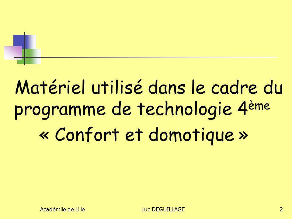 Académile de LilleLuc DEGUILLAGE3 Les capacités travaillées 5.