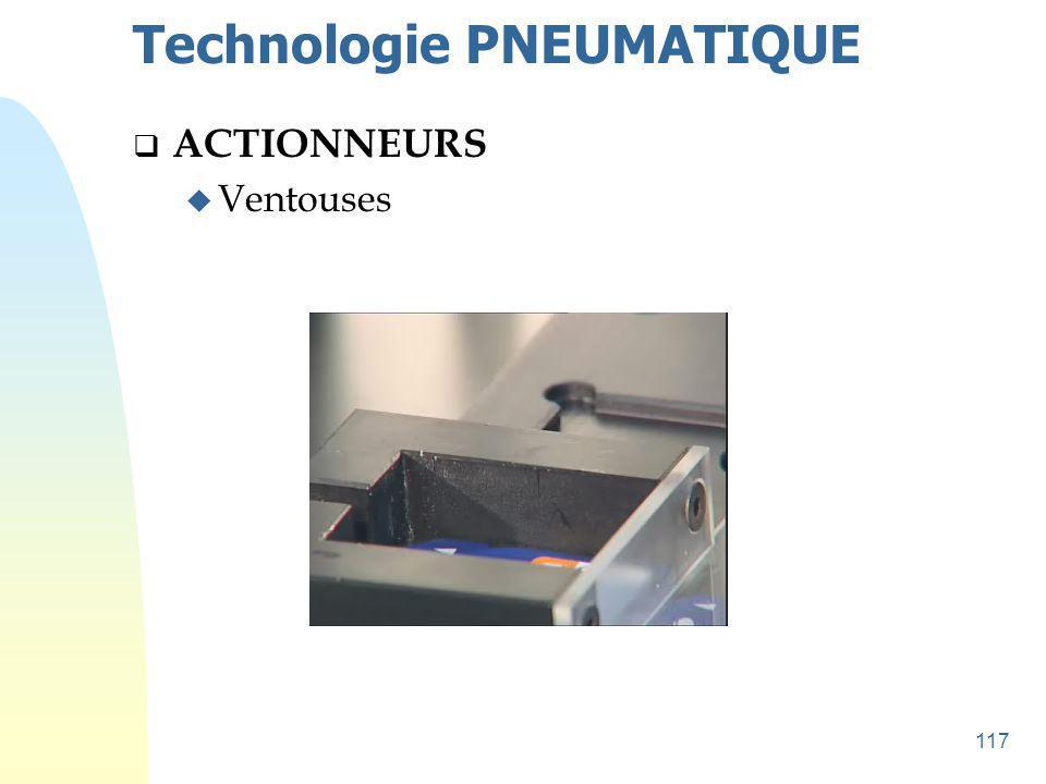 118 Technologie PNEUMATIQUE  Éléments de cette technologie u TEMPORISATION