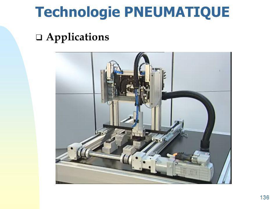 137 Technologie HYDRAULIQUE u Circuit hydraulique typique Clapet anti-retour avec ressort Réducteur de débit Régulateur de pression