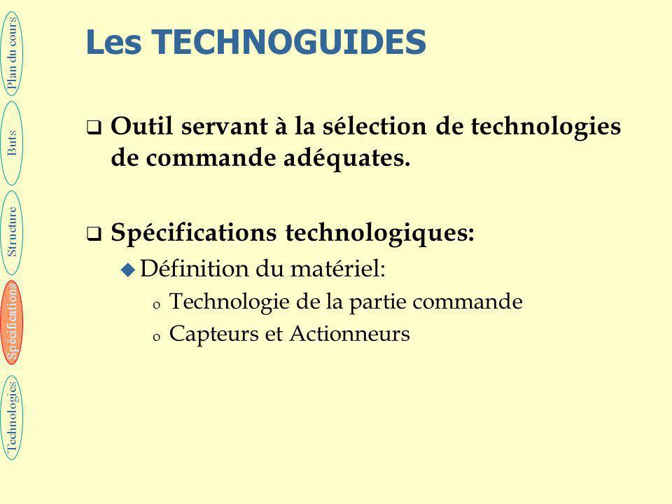 25 Les spécifications techniques  Opérationnelles: u Se rapportent au fonctionnement de l'automatisme au cours de l'exploitation.