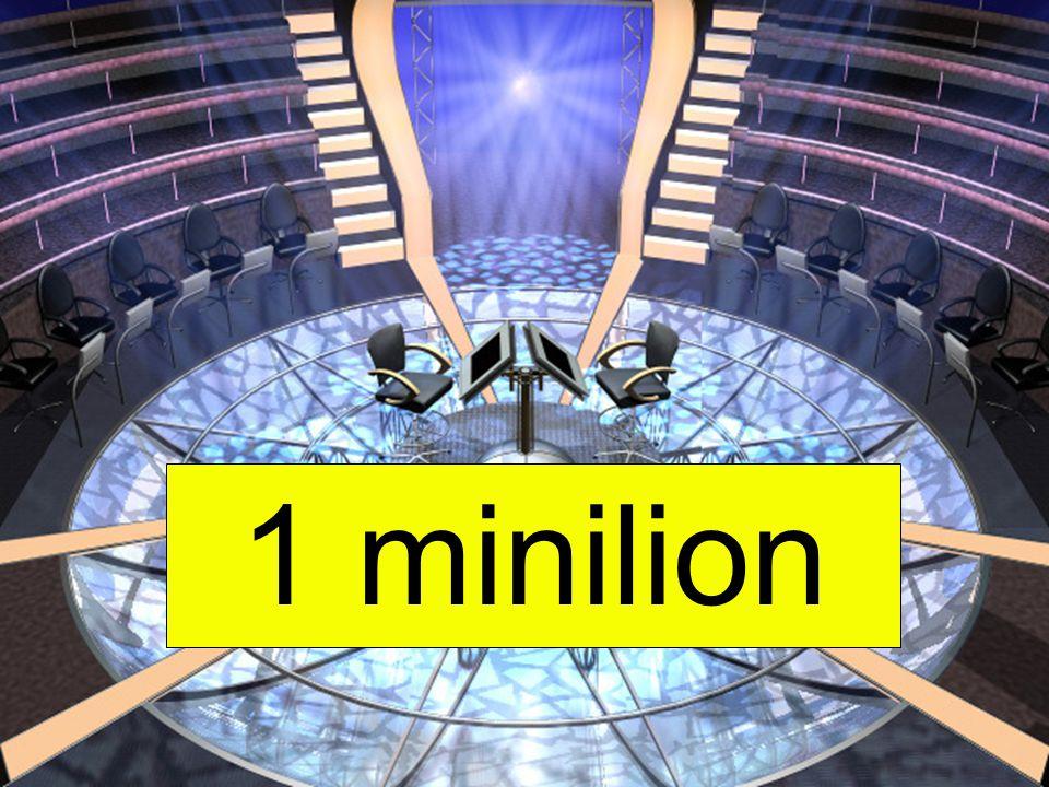 1 minilion