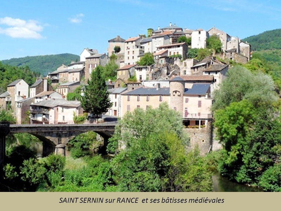 SAINT SERNIN sur RANCE et ses bâtisses médiévales