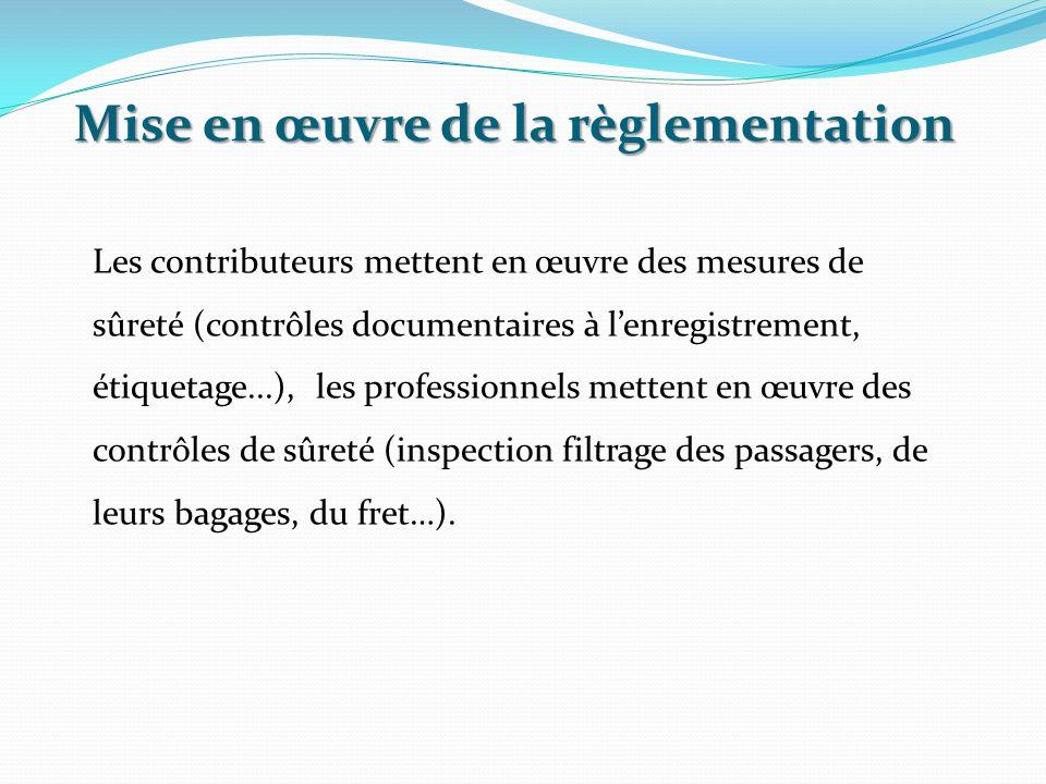 Le contrôle d'exécution des mesures de sûreté : Le non respect des procédures de sûreté du transport aérien peut entrainer des amendes financières importantes qui pourrait venir grever le budget de l'entreprise et mettre en cause sa notoriété.