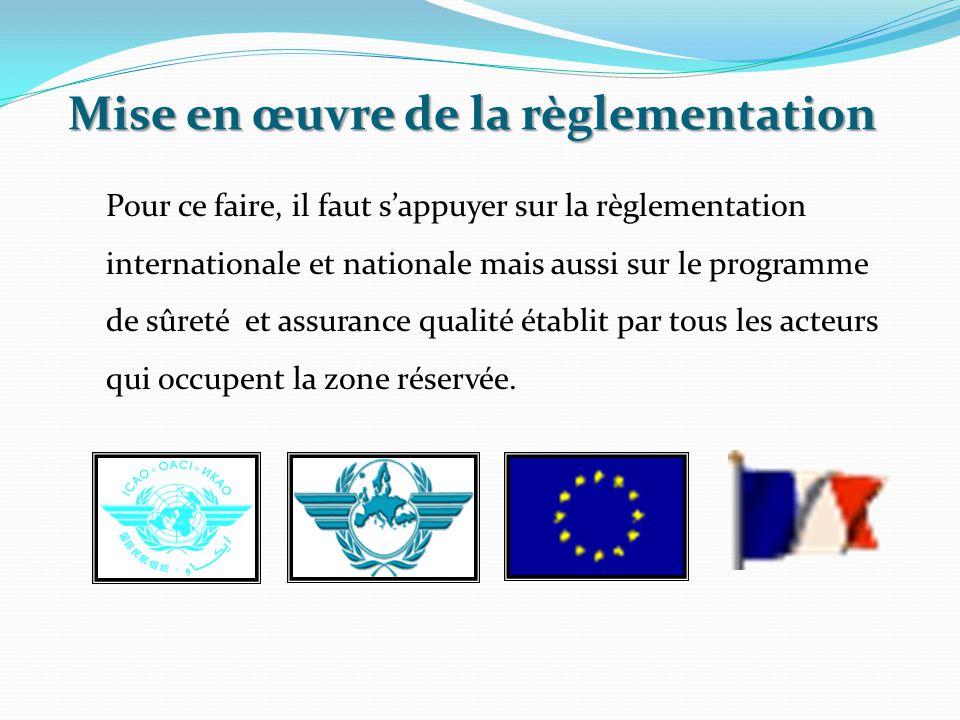Pour ce faire, il faut s'appuyer sur la règlementation internationale et nationale mais aussi sur le programme de sûreté et assurance qualité établit