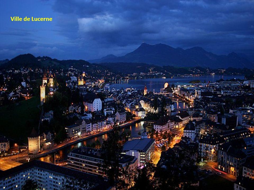 Pont Kapellbrucke à Lucerne