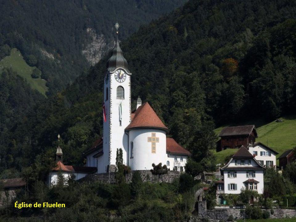 Automne dans les Alpes suisse
