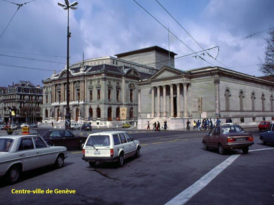 Genève et son port