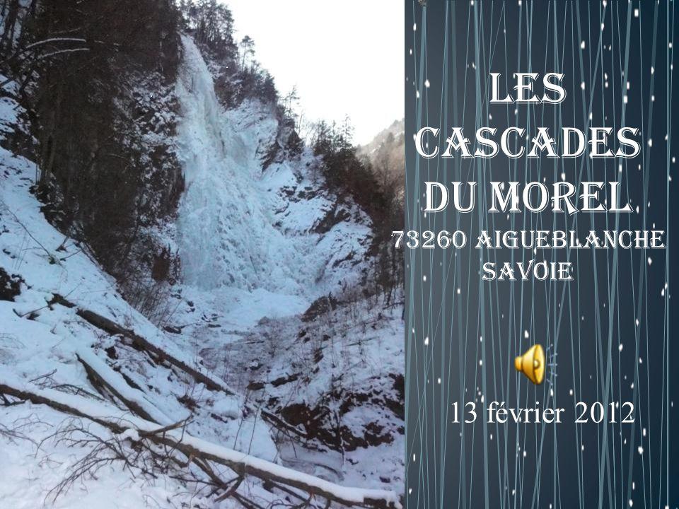 Les cascades du Morel 73260 Aigueblanche Savoie 13 février 2012