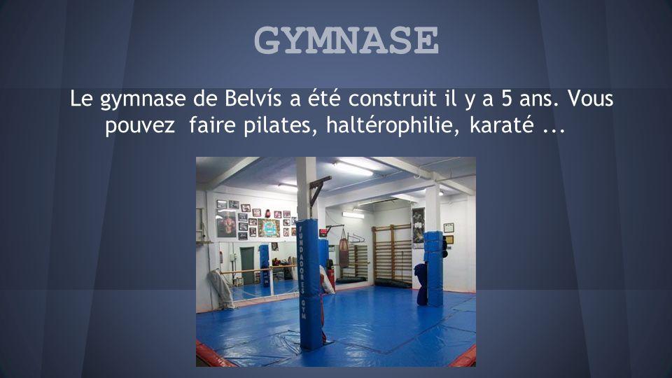 GYMNASE Le gymnase de Belvís a été construit il y a 5 ans.