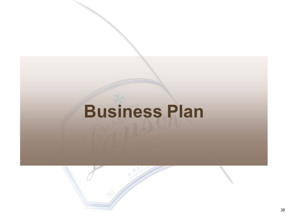 38 Business Plan