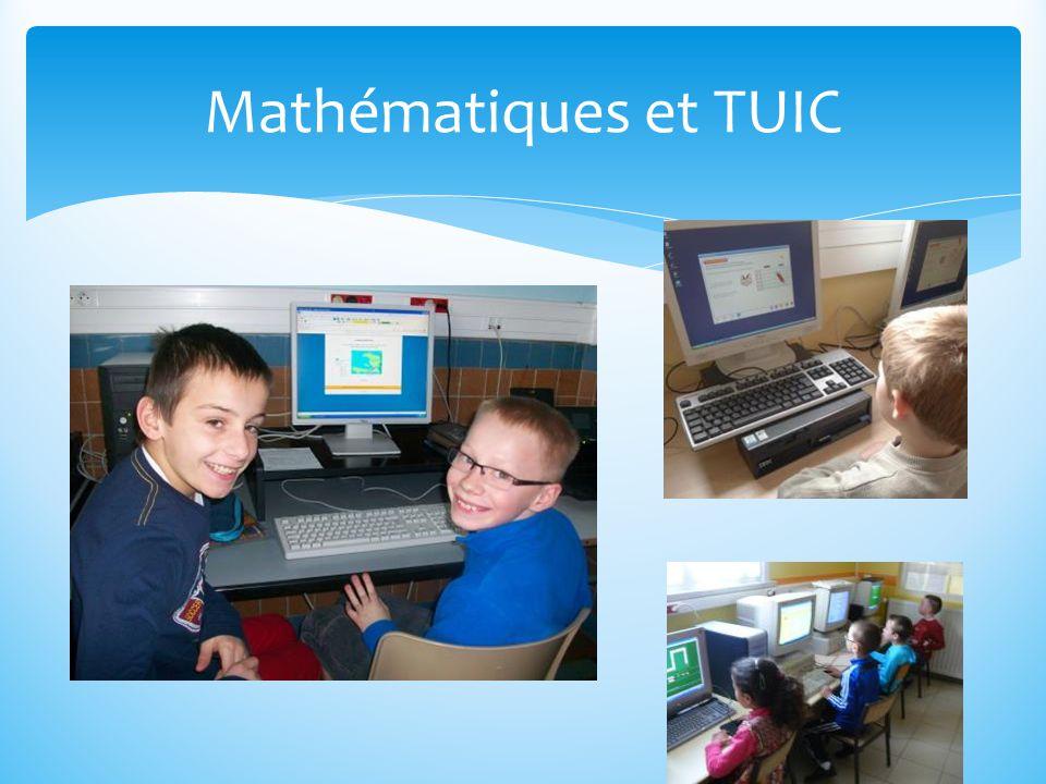 Mathématiques et TUIC