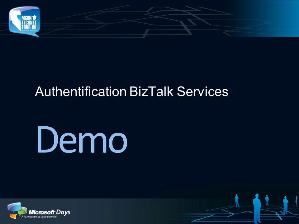 Authentification BizTalk Services