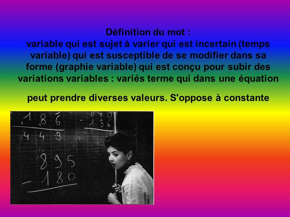 Définition du mot : coefficient nombre multiplicateur ou puissance dans une formule.