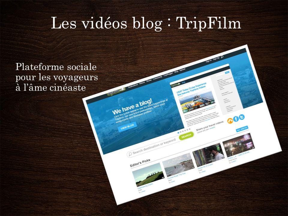 Les vidéos blog : TripFilm Plateforme sociale pour les voyageurs à l'âme cinéaste