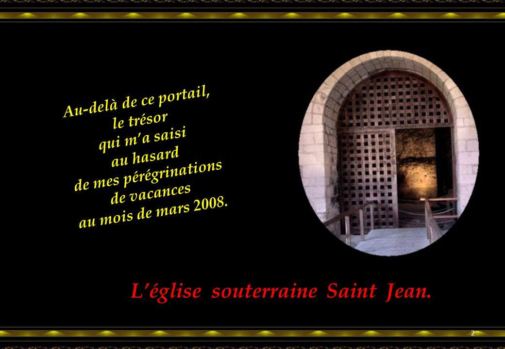 En Pays de Charente Au village d'Aubeterre-sur-Dronne Un trésor extraordinaire du Patrimoine 1 Déroulement automatique du diaporama.