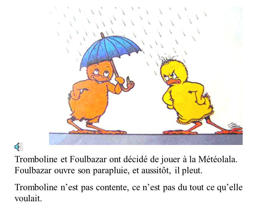 Tromboline et Foulbazar ont décidé de jouer à la Météolala.