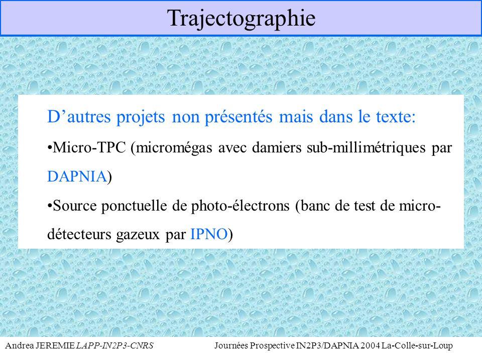 Andrea JEREMIE LAPP-IN2P3-CNRS Journées Prospective IN2P3/DAPNIA 2004 La-Colle-sur-Loup : NOSTOS DAPNIA T  He 3 + e - +