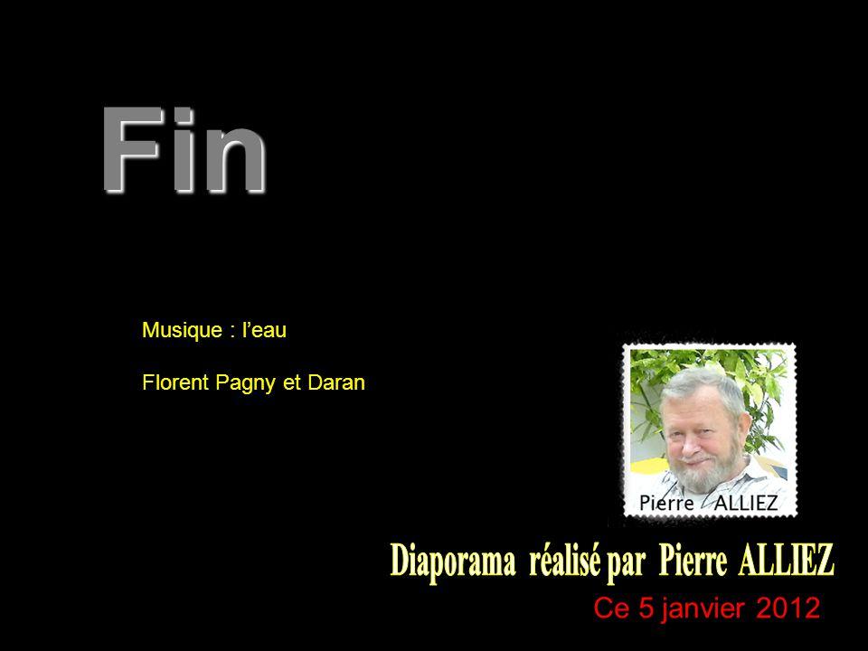 Musique : l'eau Florent Pagny et Daran Fin Ce 5 janvier 2012