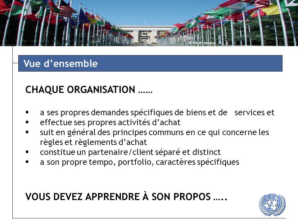 Mission de maintien de la paix des Nations Unies Commission économique et sociales des Nations Unies Tribunal pénal international Secrétariat des Nations Unies - Zone d'opération NYC