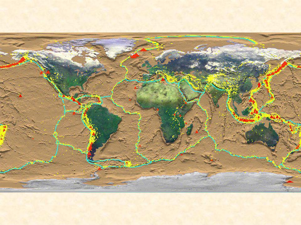 Partie 1 Convergence et subduction 1.Quelles sont les caractéristiques d 'une zone de subduction .