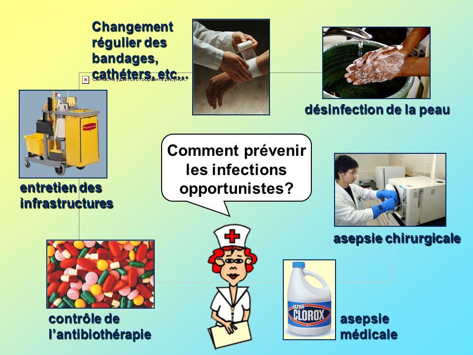 Comment prévenir les infections opportunistes.