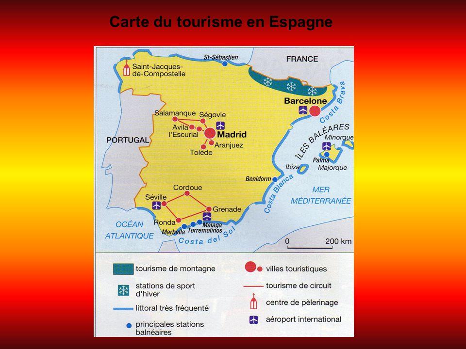 Un exemple, avec le tourisme aux îles Baléares Les îles Baléares sont une communauté autonome de l'Espagne.Il s'agit d'un archipel situé en mer méditerranée qui comprend 5 îles principales (Majorque, Minorque, Ibiza, Formentera, et Cabrera).