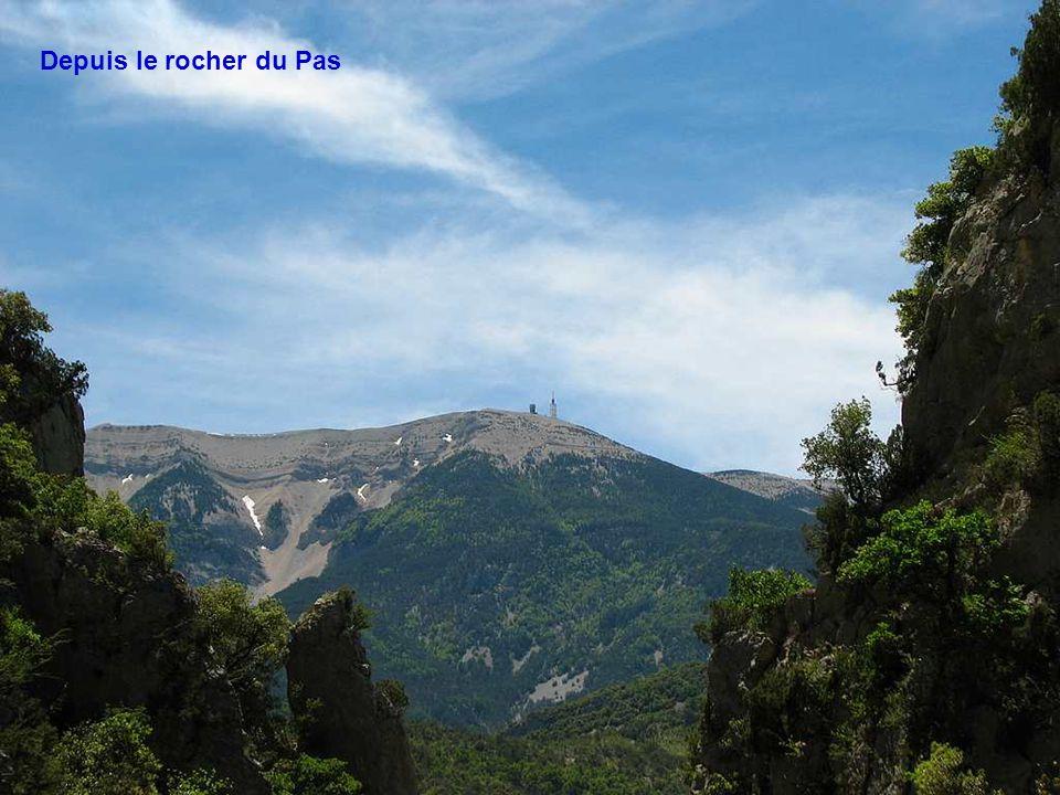 Ventoux : un tas de pierres blanches posé aux confins de la Provence comme la Borne inébranlable de la vieille province Romaine.