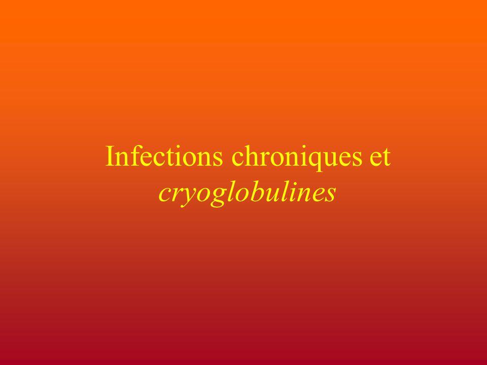 Cryoglobulinémie Une cryoglobulinémie est définie par la présence, lorsqu'un sérum est laissé à +4°C d'un précipité qui a la propriété de se redissoudre lors du réchauffement du sérum