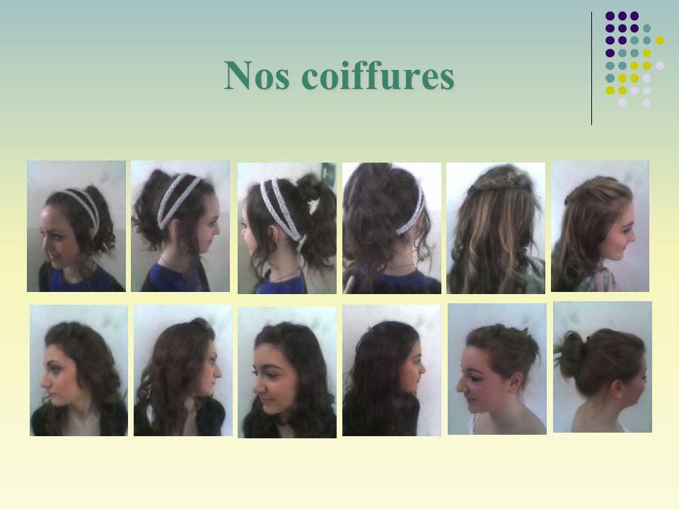 Nos coiffures
