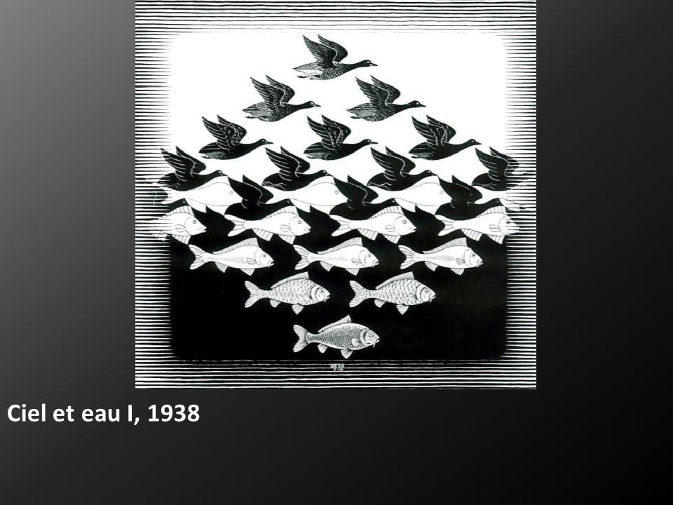 Ciel et eau I, 1938
