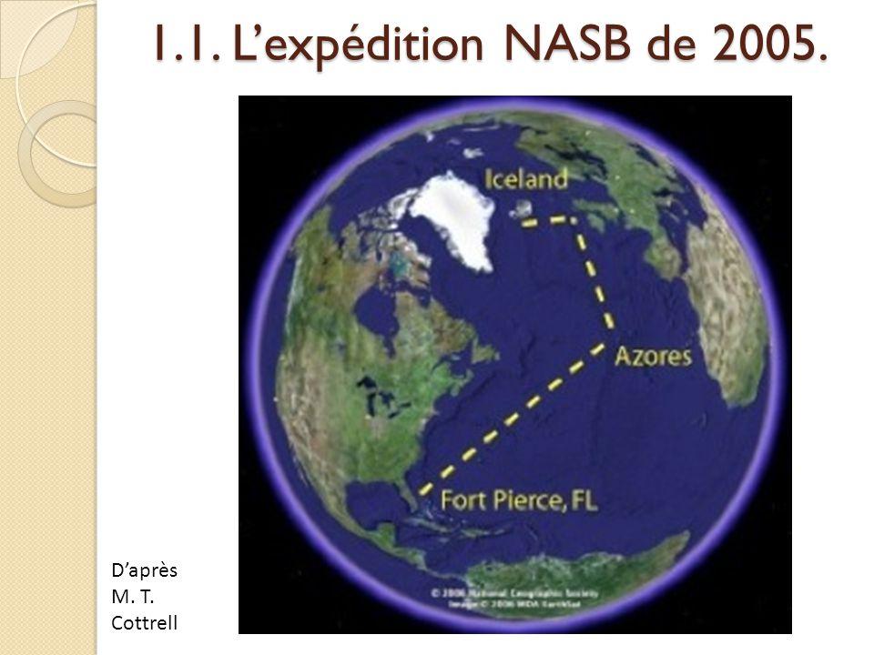 1.1. L'expédition NASB de 2005. D'après M. T. Cottrell