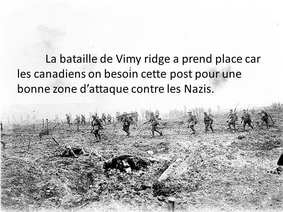 #6 Pourquoi les canadiens on battue dans ce bataille?