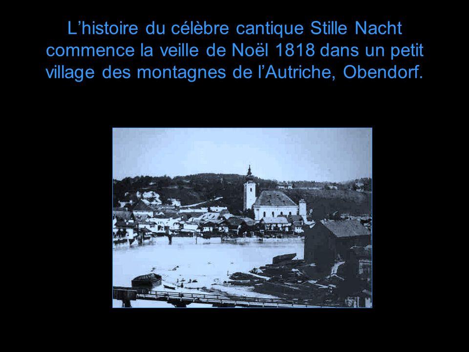 Musique: Stille Nacht Les Petits Chanteurs à la Croix de Bois Direction: Bernard Houdy Création Florian Bernard – 2003 jfxb@videotron.ca