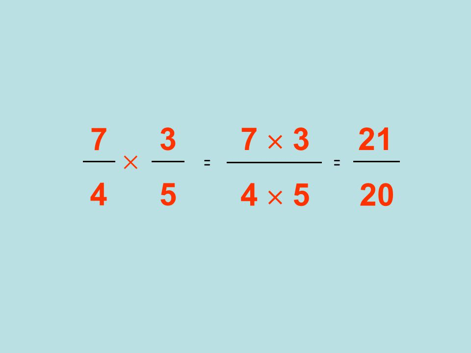 7  3 4  5 3 5  7 4 == 21 20