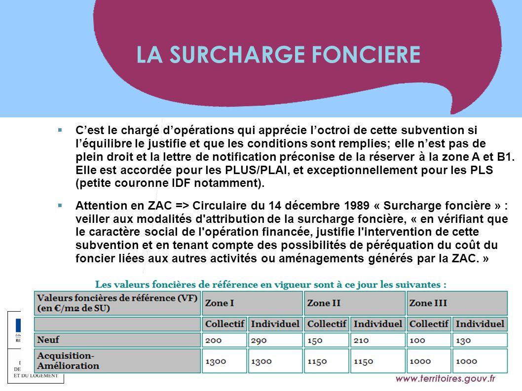 www.territoires.gouv.fr Ministère de l'Égalité des Territoires et du Logement  C'est le chargé d'opérations qui apprécie l'octroi de cette subvention
