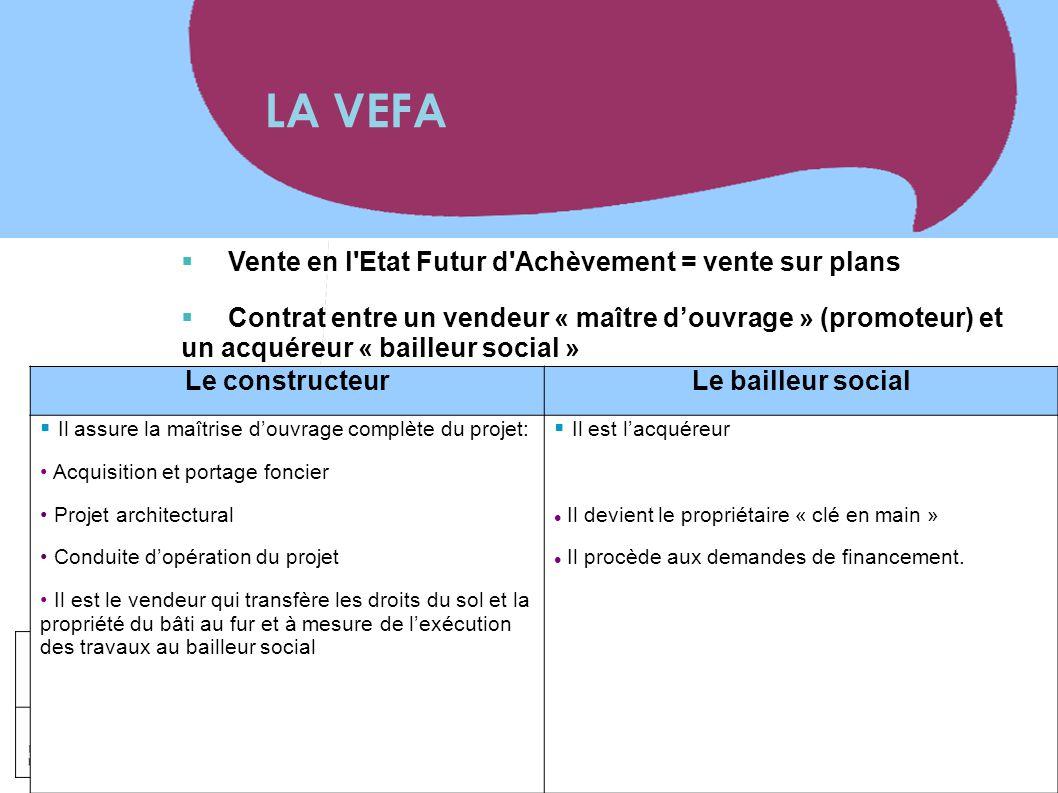 www.territoires.gouv.fr Ministère de l'Égalité des Territoires et du Logement  Vente en l'Etat Futur d'Achèvement = vente sur plans  Contrat entre u