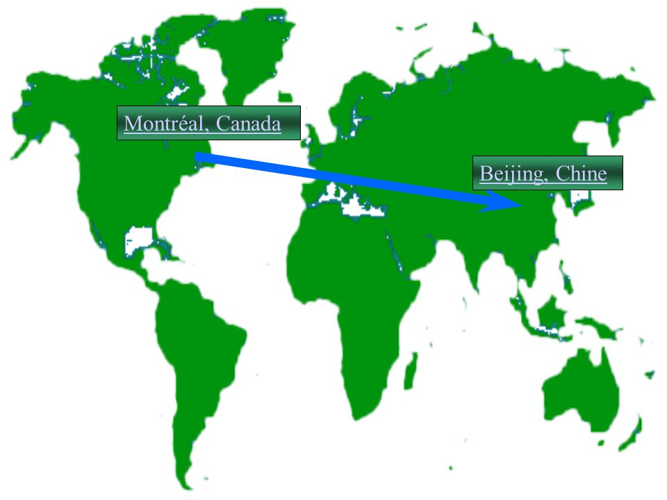 Montréal, Canada Beijing, Chine